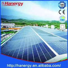 Hanergy 60kw new energy solar charger competitive price Industry on sloping roof