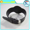 ISO1444A 13.56mhz MIFARE Ultralight EV1 RFID adjustable silicon wristband for sport event