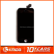 AAA qulity large stock mobile phone assembly for iphone 5 lcd touch screen display lcd