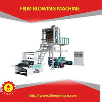 PE Plastic Processed and Film blowing extrusion machine for sale