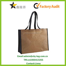 2015 Cheap recyclable promotional bopp laminated pp woven bag