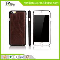Magnetic adsorption free sample mobile phone back case cover for iPhone 6