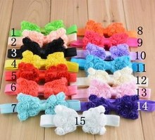 Kids Baby Girl Toddlers Hair Band Bow Headbands Accessories