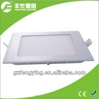 high brightness 6W led square panel light, flat led panel light, led ceiling light