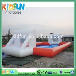 Inflatable football pitch,inflatable soccer football field