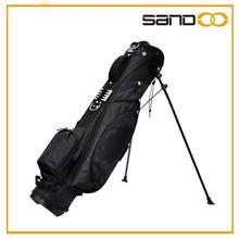 Sandoo popular luxury golf bags, outdoor light stand golf travel bag