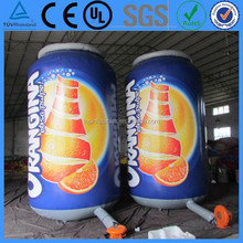 2015 Advertising inflatable beer bottle,beer can