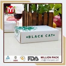 Hot china products black cardboard sushi boxes, sushi tin box manufacturer