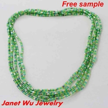 Customized 2015 Fashion Women Jewellery Sead Beads Stretch Necklace