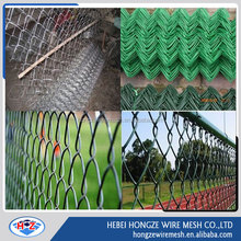 hot sale Chain Link Fence ( pvc & galvanized ) of wire mesh products