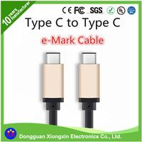 Metal Shell two sided usb 3.1 cable for mobile phone for MacBook