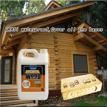 Water-soluble nano strong organic silicon waterproofing spray for wood houses