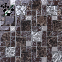 SMJ08 Bath room tile mosaic Mix material mosaic Handcraft artist mosaic
