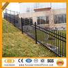 Classical 1.8mX2.4m 3 rails ornamental iron fence manufacturer