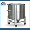 High quality FLK stainless steel galvanized water pressure tank with rollers