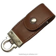 Personalized usb flash drive leather Wholesale