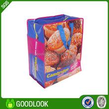 reusable waterproof silk printing shopping bag GL137