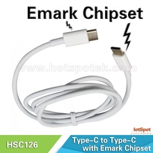 Port protected of the instantaneous currents usb-c male to usb-c male cable For computer/mobile phone