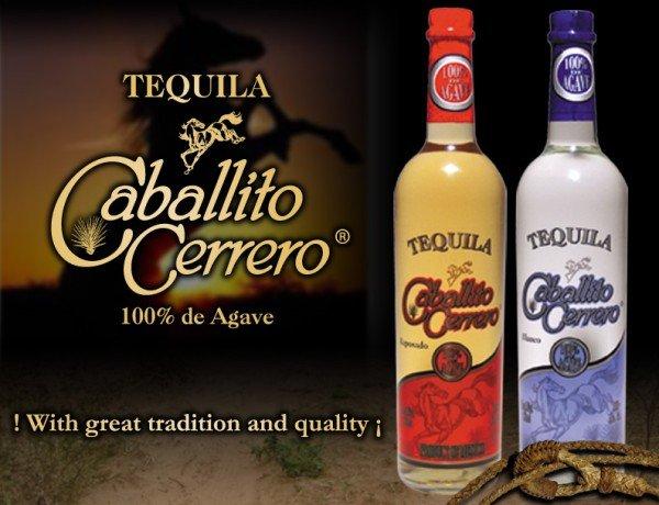 Tequila Caballito Cerrero 100% Agave