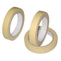 No glue residue high temperature silicone creped paper masking tape