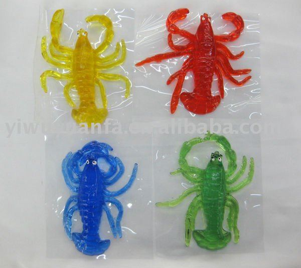 Sticky Amp Stretchy Toys : Novelty funny stretchy sticky shrimple toy buy
