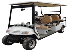 6 passengers (back to back) electric golf carts with eec made in china