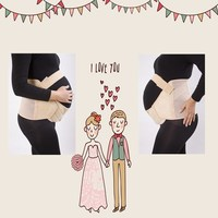 Alibaba China FDA approved large maternity belly band