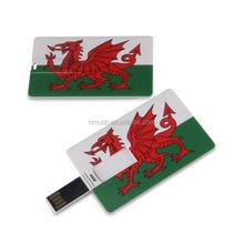 Credit card shape USB memory stick 2GB4GB8GB16GB flag Card USB flash drive Custom Solution Full printing LOGO