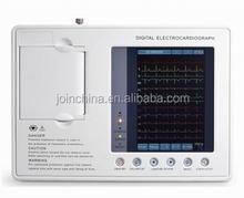CE Approved Portable 12 Lead Wireless ECG EKG Machine, ultrasound ecg paper rolls best China Manufacturer