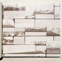 tv background decor wallpaper pvc texture wall paper, bricks pattern wallpapers