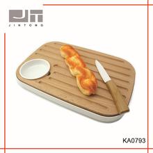 china good quality cutting board set, cutting board with tray