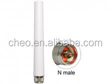 SMA/RP-SMA male connector wlan rubber wireless 2.4ghz 2.5ghz wifi antenna