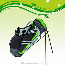 manufactur high quility colorful small stand golf bag