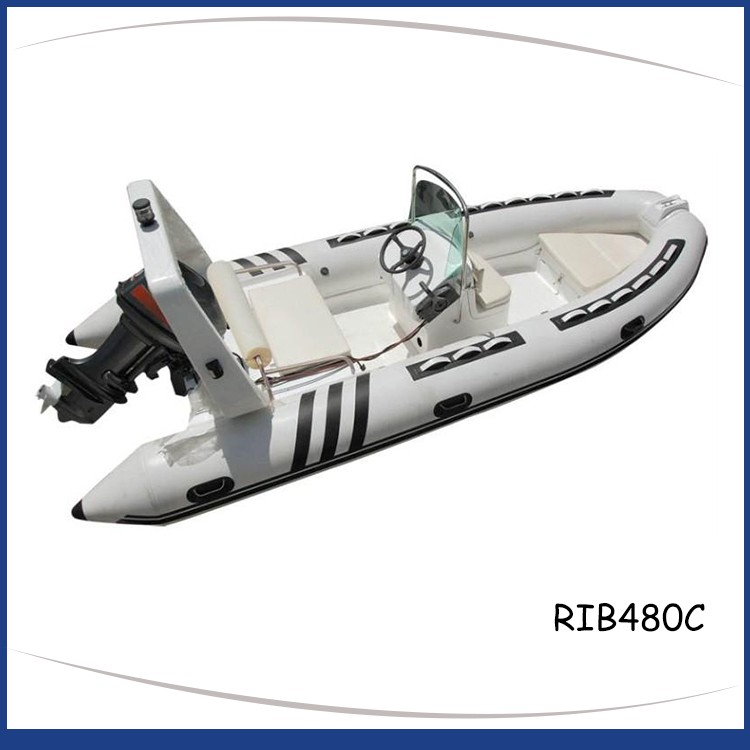 4.8M RIGID INFLATABLE BOAT RIB480C-7