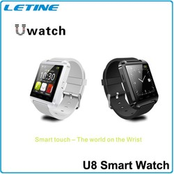 Low pirce free sample smart watch U8 for Android and IOS system