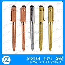MP-259 metal gold personalized pens for business and wedding
