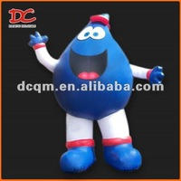 Attractive Large Waterdrop Baby Fixed Inflatable Mascot