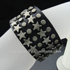Antique Men's Black Leather Cuff Bracelet Leather Wrist Band Handcrafted Jewelry BGL-019