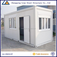 75mm Rockwool Sandwich Panel Luxury Living House Container