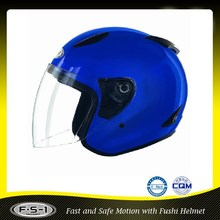 Blue Open Face Motorcycle Helmet Accessory Model 810