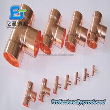 china supplier air condition and refrigeration spare parts copper fittings copper tube copper pipe