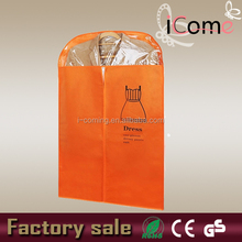 Factory sale ECO high quality cheap non woven plastic cover for dress (ITEM NO:G150464)