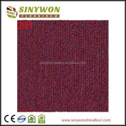 SY200 Bitumen Backing Solid Color Carpet Tile