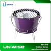 Lightweight Portable BBQ Barbecue Bucket Charcoal Camping Festival Grill