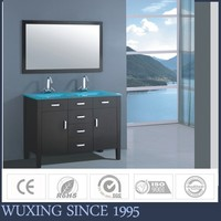 Hangzhou trendy bathroom cabinets with many drawers storage units for apartment