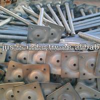 steel scaffolding screw jack/scaffolding part