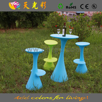 Deluxe Plastic High Chair furniture, high stool hard plastic furniture