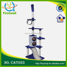 Popularly sold type pet tree, Customize made cat houses cat tree cat scratcher