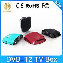 OEM/ODM Yuyu 120mm FTA DVB-T2 Set Top Box Factory