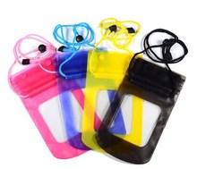 Hot selling waterproof bag for smartphone / swimming phone bag / waterproof cell phone bag